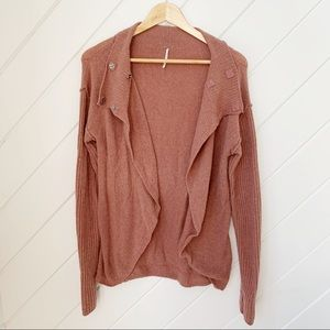 Mauve FREE PEOPLE flowy sweater